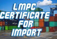 lmpc certificate