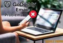 Godaddy email problems