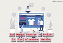 Design Features eCommerce Website