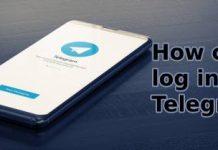 telegram log in