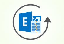 restore edb database