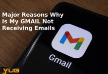 not receiving emails in gmail