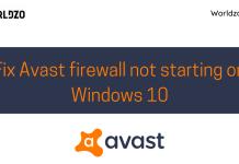 avast antivirus not working